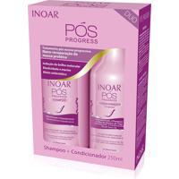 Kit Inoar Shampoo Pos Progress 250 Ml + Concionador 250 Ml.