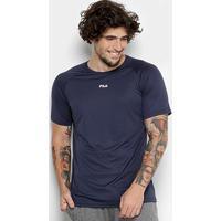 Camiseta Fila Basic Train Masculina - Masculino-Marinho