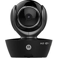 Babá Eletrônica Motorola Mbp-85 - Wifi – Compatível Ios E Android - Câmera Giratória - Preto