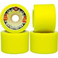 Roda Moska Yellow Slalon 65Mm - Unissex