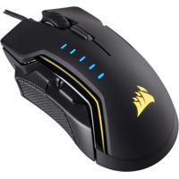 Mouse Corsair Gaming Glaive Led Rgb 16000 Dpi - Pr - Unissex