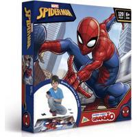 Quebra-Cabeça Grandão - 120 Peças - Disney - Marvel - Spider-Man - Toyster - Unissex-Incolor