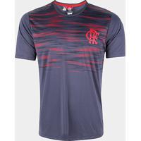 Camiseta Flamengo Maybe Masculina - Masculino-Chumbo