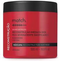 Máscara Capilar Match Sos Reconstrução 500Ml
