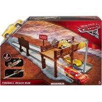 Pista De Percurso - Histórias - Fireball Beach Run - Carros 3 - Disney - Mattel - Masculino-Incolor