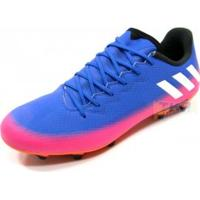 Chuteira Adidas Messi 16.3 Campo Azl/Pnk - Adidas