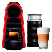 Cafeteira Nespresso Essenza Mini Vermelha Com Aero3 Preto - A3Nd30-Br-Re-Ne