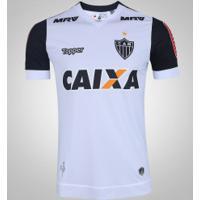 cac1fa7949 Camisa Do Atlético-Mg Ii 2017 Topper - Masculina - Branco Preto