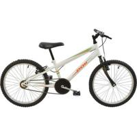 Bicicleta Mtb Aro 20 Masculina Monomarcha V-Brake Aço Carbono Polimet - Masculino