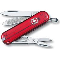 Canivete Classic Com 7 Funã§Ãµes- Inox & Vermelho- 5,8Victorinox