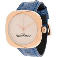 Marc Jacobs Watches Relógio The Cushion - Azul