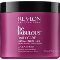 Revlon Professional Be Fabulous C.R.E.A.M - Máscara Para Cabelos Normais A Grossos 500Ml - Unissex-Incolor