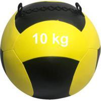 Wall Ball 10Kg Medicine Ball Crossfit Treinamento Funcional Wct Fitness - Unissex