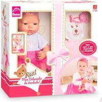 Boneca Bebezinho Real Primeiros Cuidados Menina - Roma
