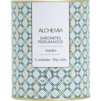 Kit Lata Alchemia Sabonetes Perfumados
