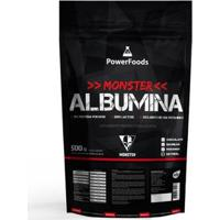 Monster Albumina Powerfoods 500G - Unissex-Natural