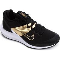 Tênis Nike Court Air Zoom Zero Hc Masculino - Masculino-Preto+Dourado