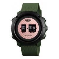Relógio Skmei -1486- Rose E Verde
