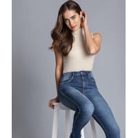 Calça Skinny Cropped Aruba Every Day Jeans - Lez A Lez