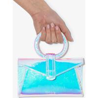 Complét Pochete Valery Mini Azul - Metálico