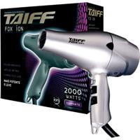 Secador De Cabelo Taiff Fox Ion 2000W 110V 4 Temperatura - Cinza - Feminino - Dafiti