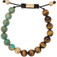 Nialaya Jewelry Pulseira De Contas - Verde