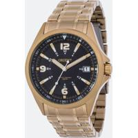 Kit Relógio Masculino Orient Mgss1107-P2Kx Analógico 10Atm + Canivete