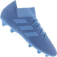 Chuteira De Campo Adidas Nemeziz Messi 18.3 Fg - Adulto - Azul 859b68ea4ea36