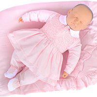 Saída De Maternidade Sonho Mágico Suedine Lady Rosa