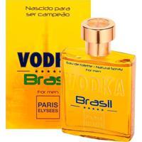 Vodka Brasil De Paris Elysees Eau De Toilette Masculino 100 Ml