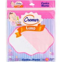 Cueiro De Luxo Para Menina - Rosa - Cremer