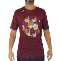 Camiseta Hurley Dri Fit Silent Roar - Masculino-Vermelho
