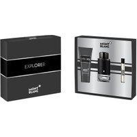 Kit Montblanc Perfume Explorer Eau De Parfum 100Ml + Aftershave 100Ml + Mini 7,5Ml Masculino Único