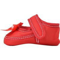 Sapatinho Baby Anjo Boneca Vermelho