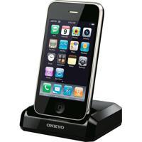 Dock Station Onkyo Upa1 Compatível Com Ipod E Iphone Preto