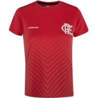 Camiseta Do Flamengo Bent 19 - Feminina - Vermelho