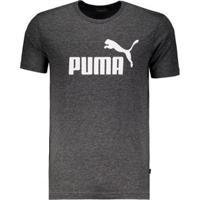 Camiseta Puma Essentials - Masculino-Cinza