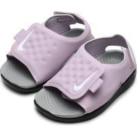 Sandália Nike Menina Sunray Adjust 5 Lilás
