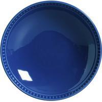 Prato Fundo Sevilha Cerâmica 6 Peças Azul Navy Porto Brasil