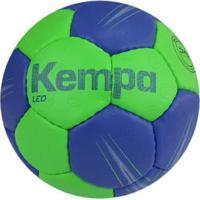 Bola De Handebol Kempa Leo - Cbhb - Unissex-Verde+Azul