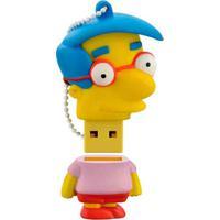 Pen Drive Milhouse Simpsons 8Gb Usb Leitura 10Mb/S E Gravação 3Mb/S Multilaser - Pd075 - Padrão