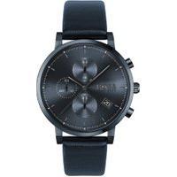 Relógio Hugo Boss Masculino Couro Azul - 1513778