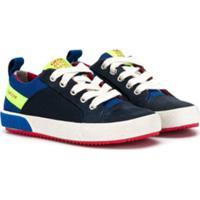 Geox Kids Chunky Sole Sneakers - Azul