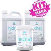 Kit Argan Hidratação Capilar Lavatório Profissional Tree Liss