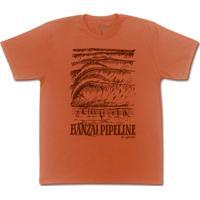 Camiseta Surf - Banzai Pipeline Vermelha