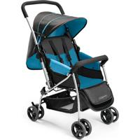 Carrinho De Bebê Berço Flip Azul Multikids Baby
