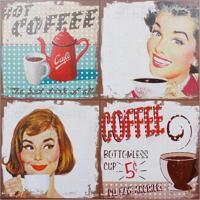 Quadro Hot Coffee Fullway 80X80X4