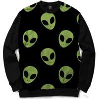 Blusa Bsc Alien Full Print - Masculino