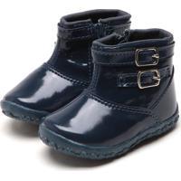 Bota Tricae Infantil Fivela Azul