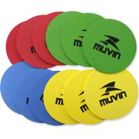 Marcadores Para Treinamento Funcional - 20Cm - Mtf-100 - Muvin